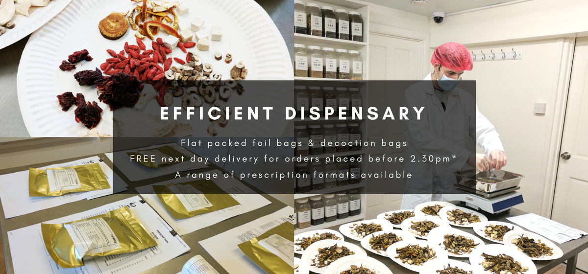Efficient Chinese Herbal Dispensary